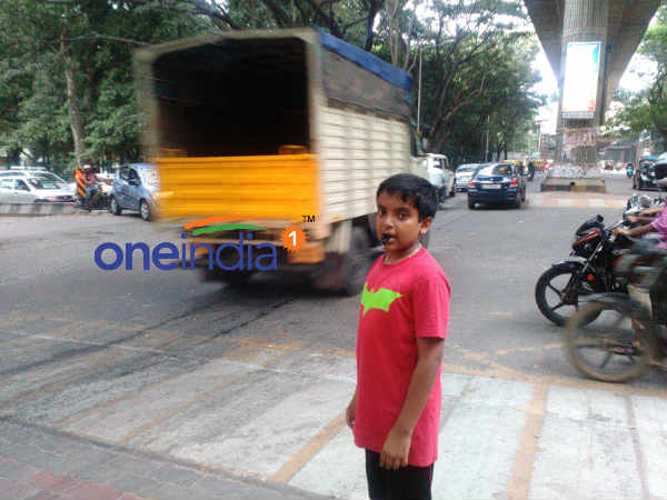 Really Inspiring 13 Year Old Manages Trafficin Bengaluru