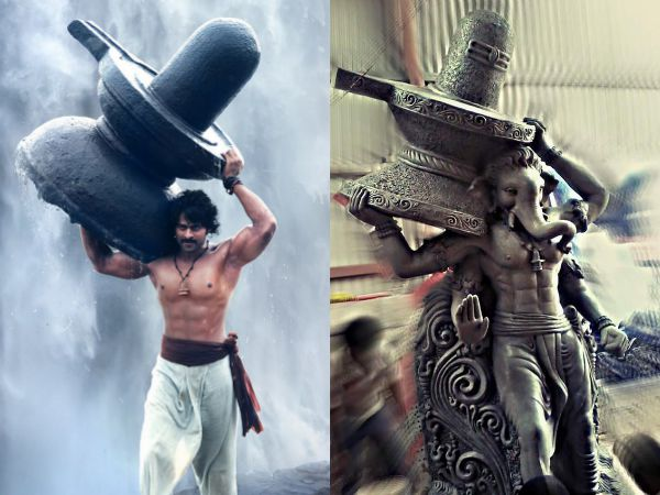 Prabhas To Take Blessing From Baahubali Inspired Ganesh Idols