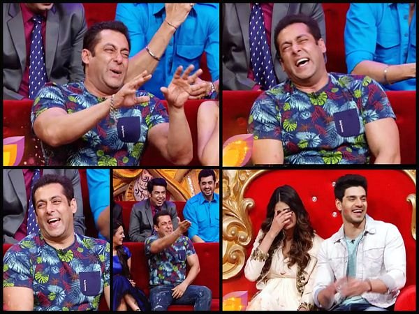Photos Salman Khan Laughs Loud On Comedy Nights Bachao