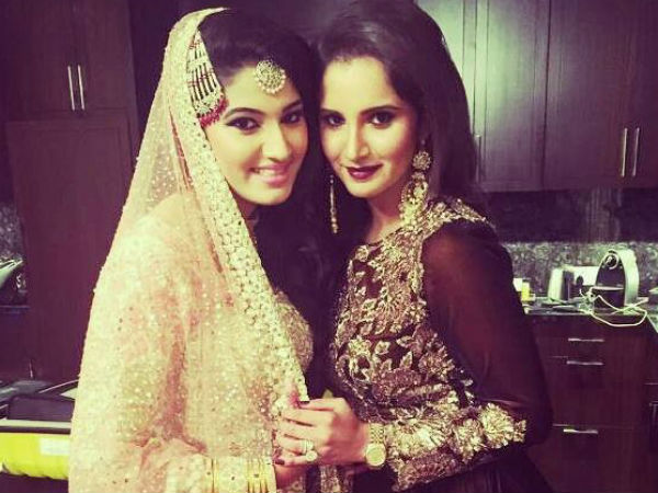 New Photos Of Sania Mirza S Sisters Engagement In Hyderabad Its Beautiful
