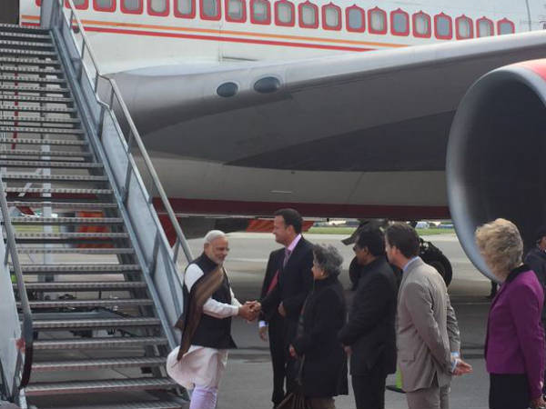 Narendra Modi Reached Ireland