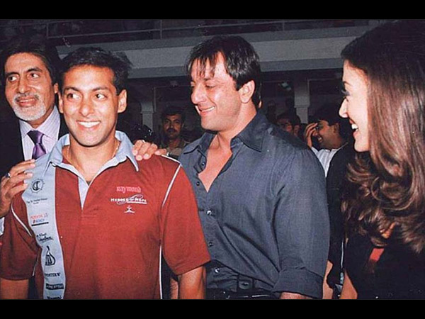 Aishwarya Rai Salman Khan Amitabh Bachchan Having Laugh