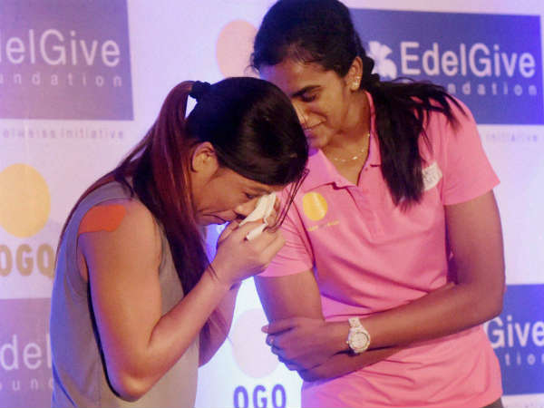 Boxing Champion Mary Kom Breaks Down Public Event Alleges Regional Bias Against Her