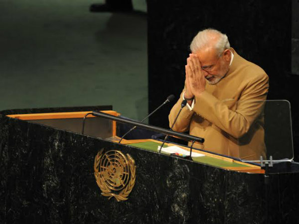 Pm Narendra Modi Says Isis Is The Biggest Threat New York Us
