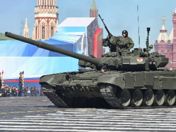 Deadly Weapons Russia Against Isis Syria