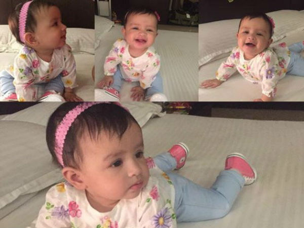 Sakshi Dhoni Shares Daughter Ziva S Latest Photos