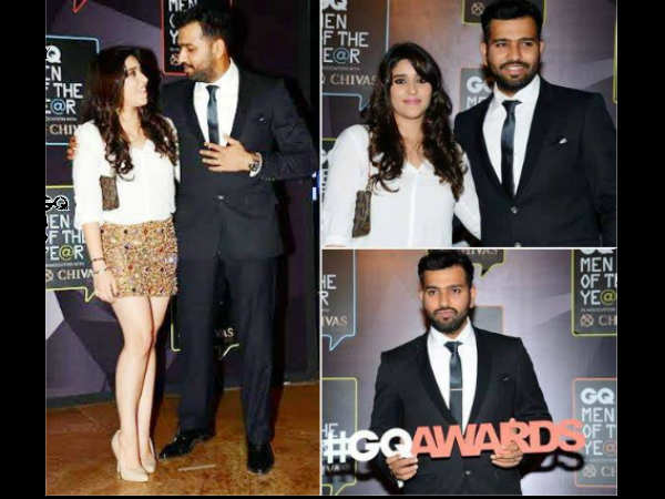 Pics Cricketer Rohit Sharma Got Sportsman Of The Year Gq Award