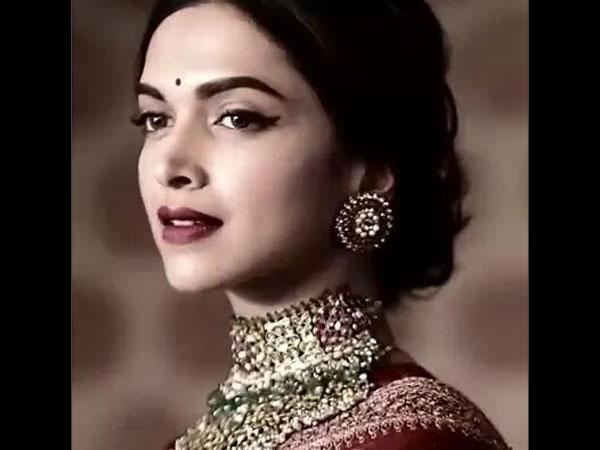 Jaw Dropping Pics Deepika Padukone Photoshoot In Traditional Sabyasachi