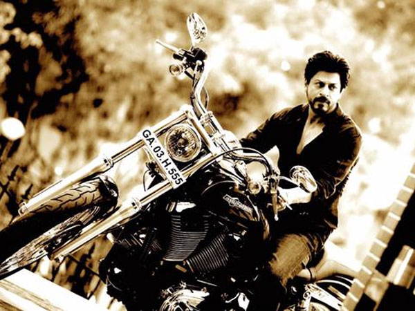 Shahrukh Khan S Harley Bike Gifted Rohit Shetty