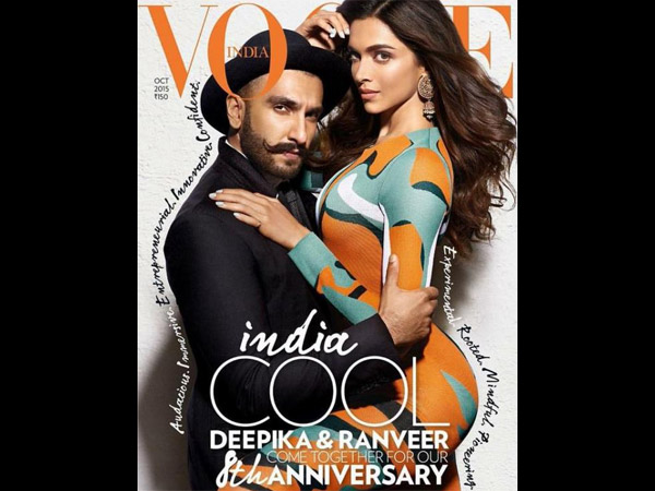 Too Hot To Handle Deepika Padukone Ranveer Sing Vogue Magazine Photoshoot