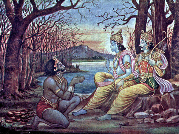 Characters That Appear Both In Mahabharata And Ramayana