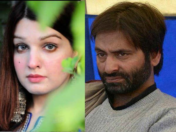 Separatist Leader Yasin Malik Married Pakistani Mushaal Hussein She Is Beautiful