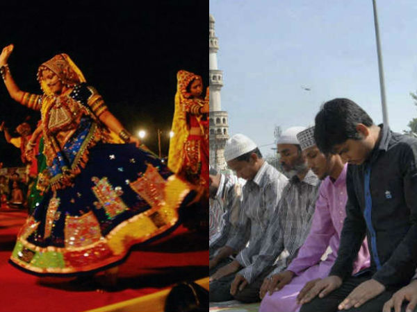 Muslims Banned Garba Festivals Hindus Allowed After Sprinklng Of Cow Urine