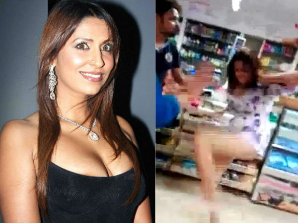 Watch Video Former Bigg Boss Contestant Pooja Mishra Assaults Shopping Store Staff
