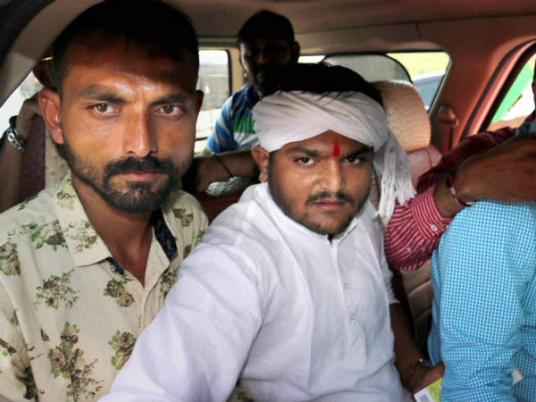 Sedition Case Filed Against Hardik Patel In Surat