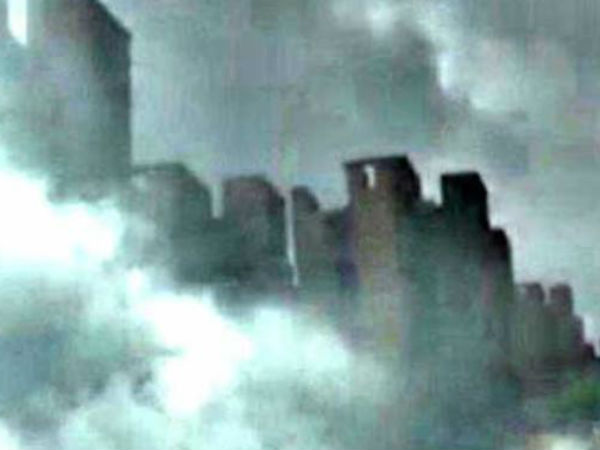 Video Mysterious City Appears Sky Above China