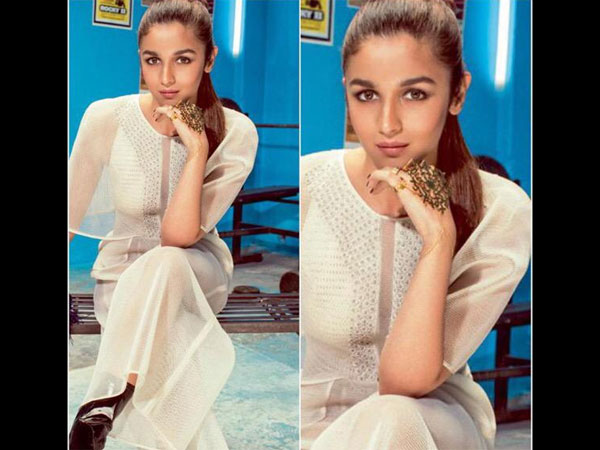 Alia In White