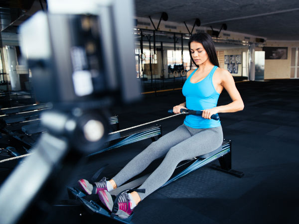 Benefits Rowing Machine Exercises