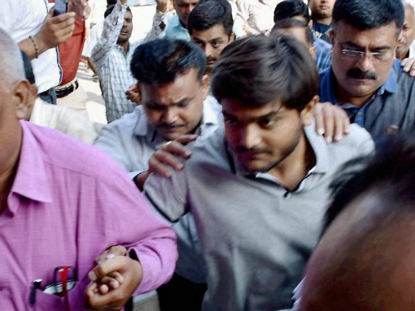 Sedition Case Ahmedabad Police Produced Hardik Patel Court