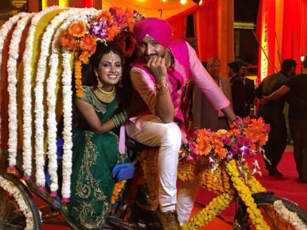 Harbhajan Singh Geeta Basra Wedding Pictures Sangeet Function Simply Beautiful