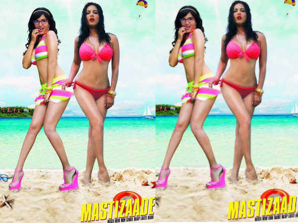 Sunny Leone Mastizaade First Poster Released