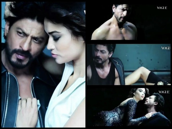 Shahrukh Khan Shirtless Photoshoot Vogue
