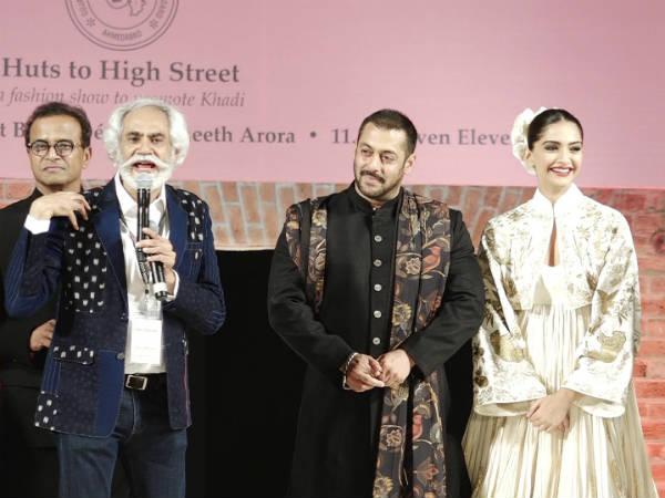 Sonam Kapoor Salman Khan Ramp Walk At Ahmedabad