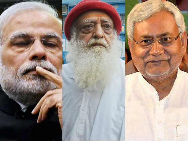 Jdu Bjp Video War Jdu Releases Pm Modi S Video With Asaram Bapu