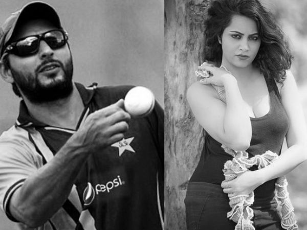 Fatwa Against Model Arshi Khan Cricketer Shahid Afridi Tweet 027797 Pg