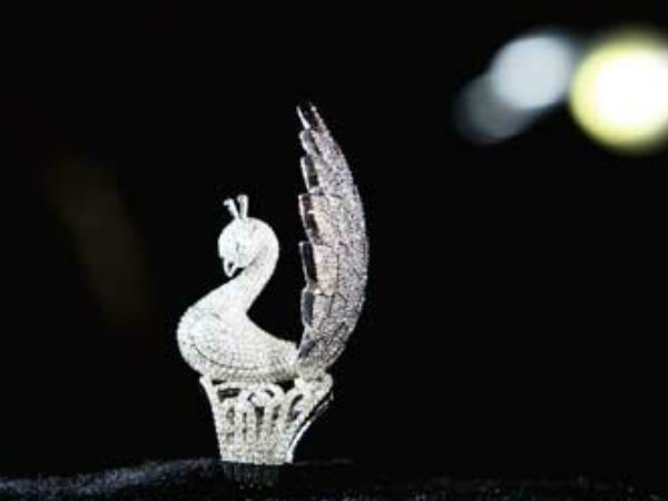 Guinness World Record Holder Jewellery Piece An Incredible Peacock Ring
