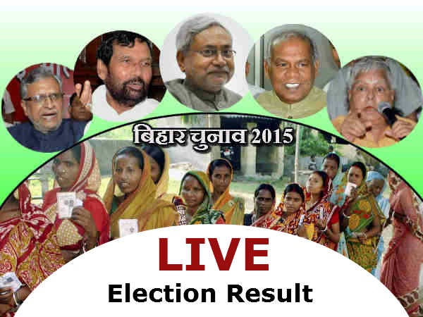 Bihar Assembly Election 2015 Results Live Updates