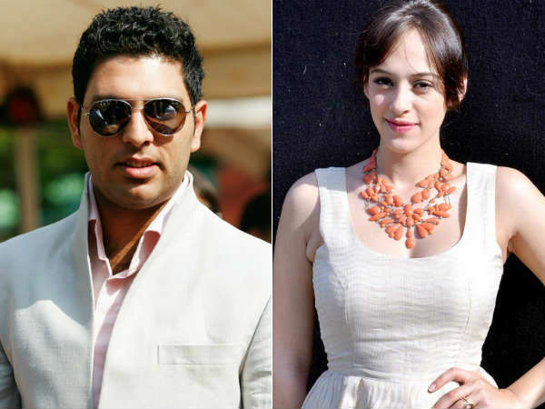 Play Boy Yuvraj Singh Gets Engaged Hazel Keech