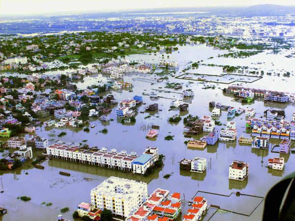 Heavy Rain Continues Tamil Nadu Including Chennai