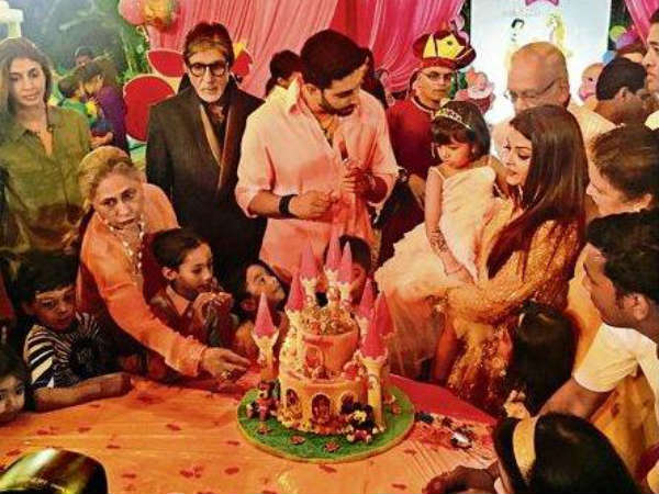 Aishwarya Rai Bachchan S Daughter Aaradhya S Princess Themed Birthday Party