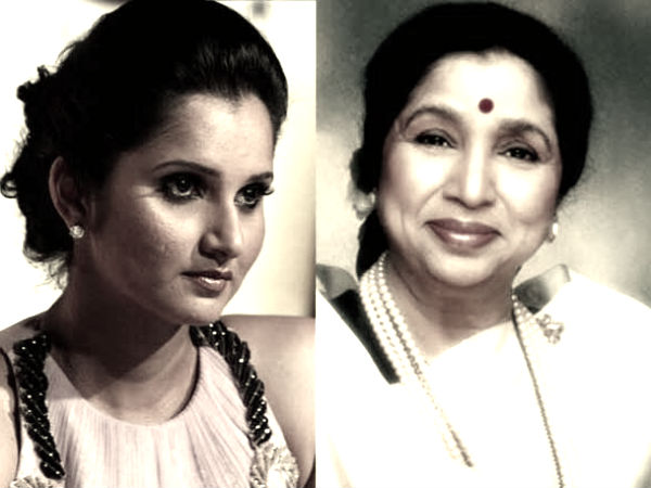 Sania Mirza Asha Bhosle 5 Indians Feature Bbc 100 Aspirational Women List