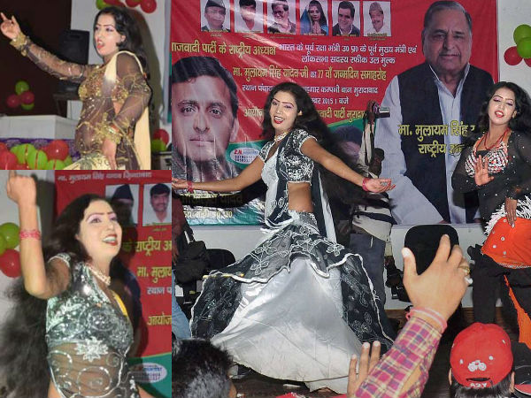 Bar Dancers Hired To Entertain Sp Leaders In Mulayam S Birthday Bash