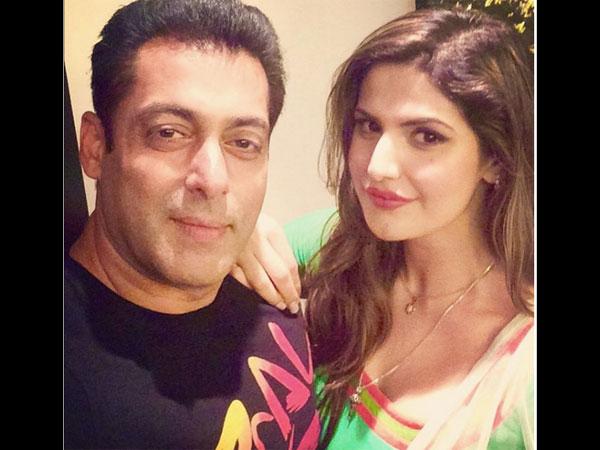 Salman Khan Is Not My Mentor Says Hate Story 3 Actress Zarine Khan