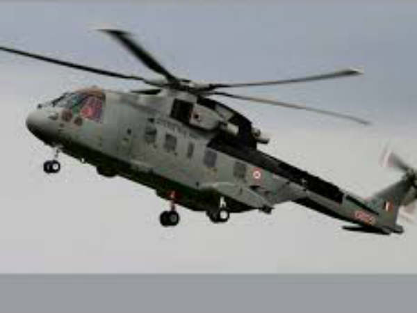 Iaf Helicopter Reaches To Help Pregnant Lady Stuck In Chennai Rain