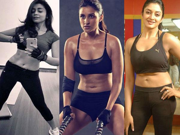 Indian Actress Workout Photos