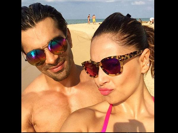 Bipasha Basu Welcomes The New Year A Bikini With Her Lover