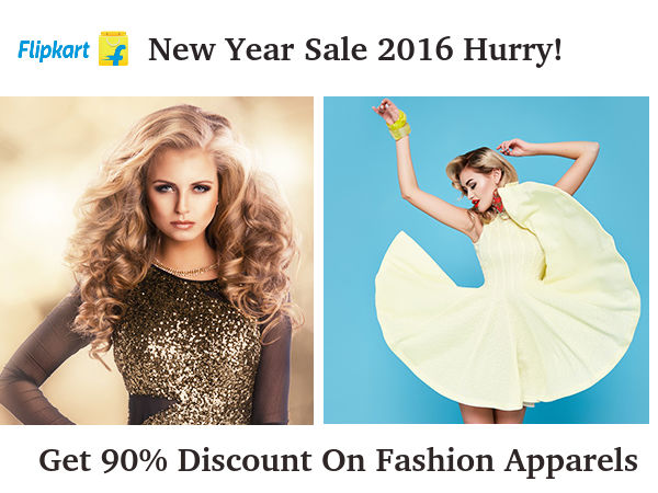 Flipkart New Year Sale 2016 Get 90 Discount On Fashion Appareals