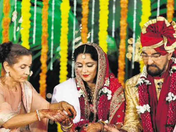 Kabir Bedi Marries Parveen Dusanj 70th Birthday Pooja Bedi Calls New Mom Witch