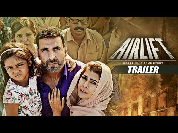 Airlift Day 4 Monday Box Office Collections