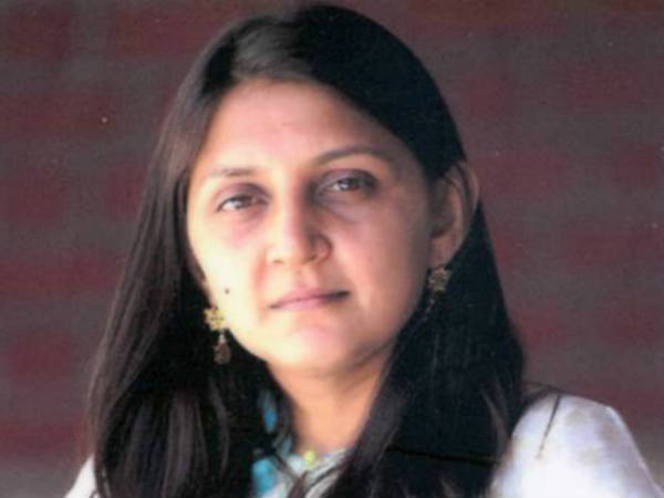 Congress Blamed Cm Anandiben Patel S Daughter Anar Patel For Land Scam