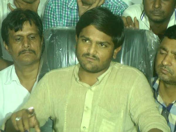 Hardik Patel Started Fast Lajpor Jail Surat