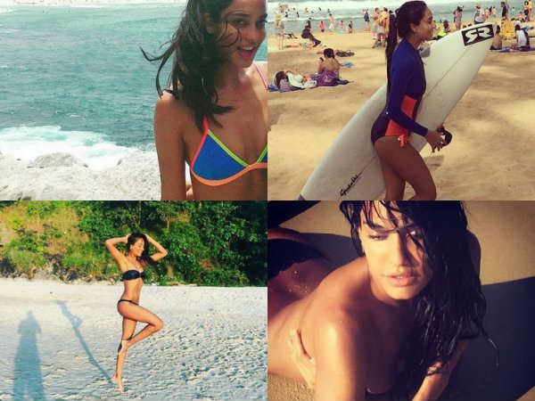 Hot Bikini Pics Lisa Haydon Is Too Hot Handle