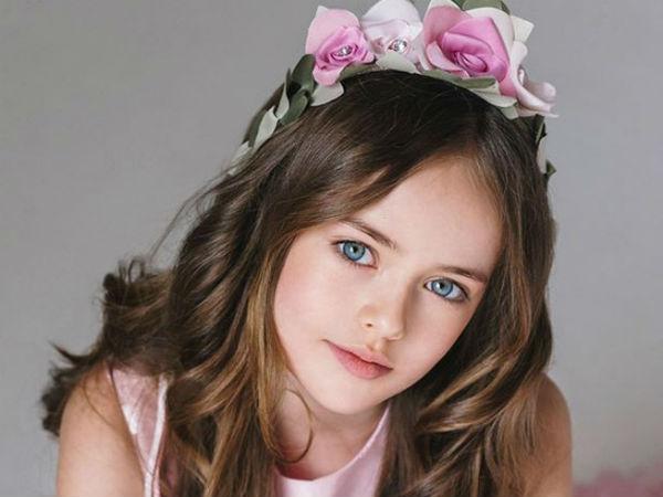 Meet 9 Yr Old Kristina Pimenova The Most Beautiful Girl In The World