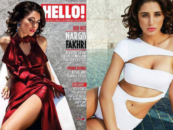 Nargis Fakhri S Photoshoot Hello Magazine