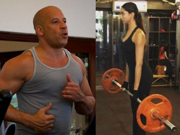 Deepika Padukone Vin Diesel Workout Xxx