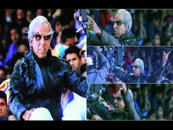 Akshay Kumar Scary Look In Tamil Movie 2